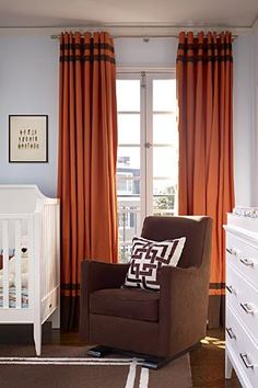 Non Traditional Colors in the Nursery