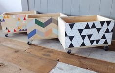 mommo design: RECYCLING IDEAS - toy storage boxes