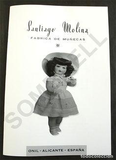 LIBRITO CATALOGO DE SANTIAGO MOLINA- MARICELA.- MARILYN-PIRRI (Juguetes - Otras Muñecas Españolas Clásicas (Hasta 1.960))
