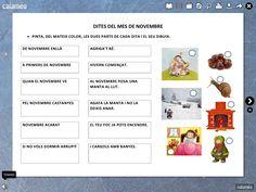 Relació de la lectura, la comprensió i les dites delsmesos de l'any. Digital Magazine, Valencia, Author, Teaching, School, Books, Ideas, Frases, Learning