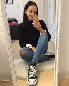 you wear high heels I wear sneakers