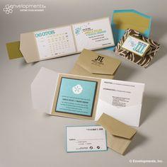 I like the layout of the wedding invitation