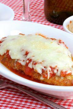 Skillet Parmesan Chicken