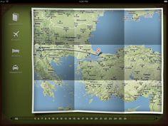 iPad Travel App ui-inspiration