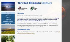 Yarwood Stimpson solicitors, Whitley Bay: http://www.yarwood-stimpson.co.uk