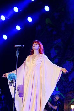 Florence +The Machine...minor girl crush right there haha