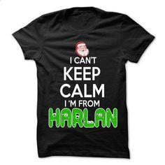 Keep Calm Harlan... Christmas Time - 99 Cool City Shirt - design a shirt #summer shirt #hoodie with sayings