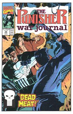 Punisher War Journal # 28 by Michael Golden
