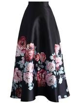 Endless Blooming Rose Maxi Skirt - Prom Dress & Skirt - Trend and Style - Retro, Indie and Unique Fashion Unique Fashion, Classic Fashion, The Dress, Dress Skirt, Midi Skirt, Pleated Skirt, Prom Dress, Denim Skirt, Chicwish Skirt
