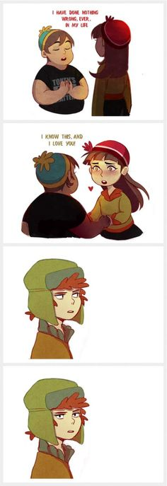 Kyle's like done (based on Parks and Recs' meme) <<< Kyle reminds me of Dipper Pines in this pic South Park Quotes, South Park Funny, South Park Memes, South Park Anime, South Park Fanart, Adventure Time, Parks And Recs, Cartoon Books, Animation