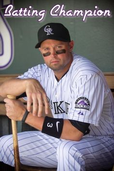 Michael Cuddyer. 2013 National League Batting Champion. Love this guy!!