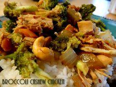 Broccoli Cashew Chicken
