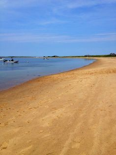 One of the two private beaches at The Wauwinet. this is the bay-side beach. Soft sand, shallow waters, and small waves only on the windiest of days! Nantucket, Shallow, Beach Trip, Beaches, Wedding Inspiration, River, Sea, Outdoor, Lakes