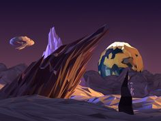 Planet lost in space