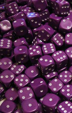 Go ahead... roll the Purple dice