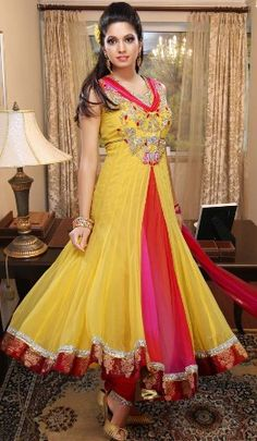 Kiranmala dress picture color