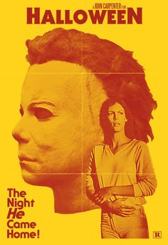 Halloween (1978) Best Horror Movies, Horror Films, Scary Movies, Good Movies, Horror Icons, Horror Movie Posters, Movie Poster Art, John Carpenter Halloween, Halloween Film
