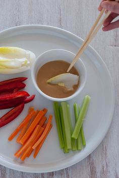 Japanese Salad Dressing (with tahini!) on Stonesoup.  Can't wait to try this as veggie dip!