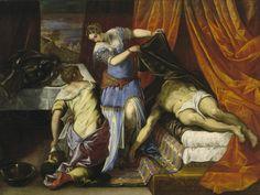 Jacopo Robusti Tintoretto - Giuditta e Oloferne, c. 1577
