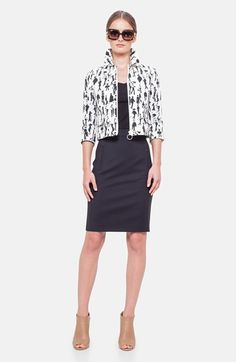 Akris punto Jacket, Tank & Skirt  available at #Nordstrom