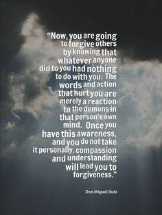 Forgiveness Don Miguel Ruiz❤️☀️