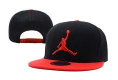 76a30558c31 Jordan Brand Caps Black Red New Era 9FIFTY Snapback Hats 050 8239! Only   8.90USD