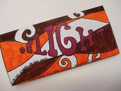 a faithful attempt: Substitute Lessons  Chocolate Bar wrappers - cool art…