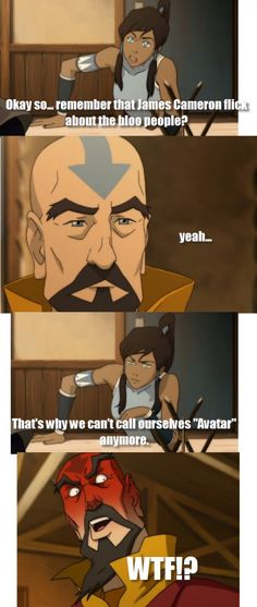 Of all the things an Avatar could be they should have never been blue!