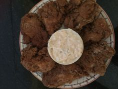 Wilapa bay egg free beer battered fried oysters with homemade sriracha tarter. Omg they were better than expected.