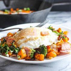 Bacon Kale And Sweet Potato Hash
