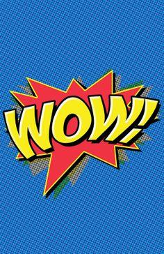 Superhero Action comics Word Bubble poster