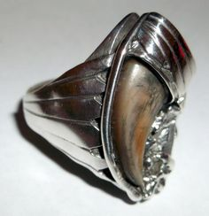 Holy crap, what is this? What is going on? O_O! Genuine Bear Claw Ring