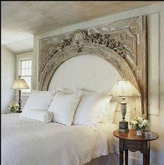 .amazing headboard I never thought another headboard would ever out do my parents. So different from this. This is breathtaking.