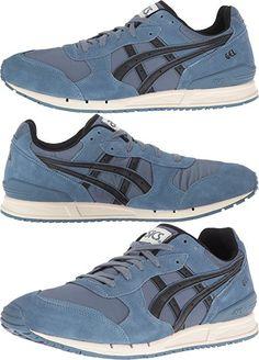 ASICS Men's Gel-Classic Fashion Sneaker, Blue Mirage/Black, 10.5 M US