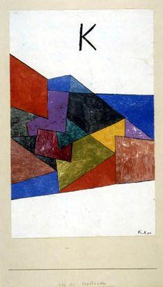 Paul Klee - Kraftwetter 1933