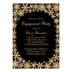 gold winter lace new years eve invitation new years eve invitations engagement party invitations