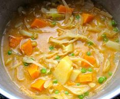 Recipe Cabbage with Sweet Potato in Coconut Milk by Katherine Roussety, learn to make this recipe easily in your kitchen machine and discover other Thermomix recipes in Main dishes - vegetarian. My Colombian Recipes, Colombian Food, Cuban Recipes, Vegetarian Cabbage, Vegetarian Recipes, Healthy Recipes, Vegan Soups, Savoury Recipes, Vegan Dishes