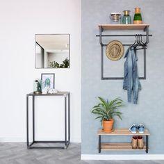 Spinder Design Donna Spiegel 60 x 60 cm Interior Design, Blacksmithing, Wardrobe Rack, Metal Working, Home Improvement, Gallery Wall, Mirror, Wood