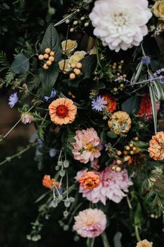 This wedding at Hornings Hideout in Portland, Oregon was filled with beautiful wildflowers! Wedding Decor, Floral Wedding, Wedding Bouquets, Wedding Flowers, Wild Flowers, Beautiful Flowers, Jolie Photo, Floral Arrangements, Dream Wedding