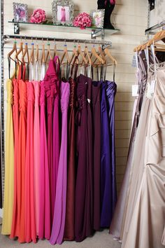 Don't forget to have a look at out bridesmaid dresses! We stock Dessy, Alfred Angelo and lots more!