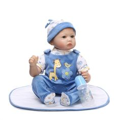 """82.59$  Watch here - http://alifvo.worldwells.pw/go.php?t=32687737800 - """"Real boy doll reborn 22"""""""" magnetic mouth rooted mohair soft touch brand silicone dolls for children brinquedo menina"""""""