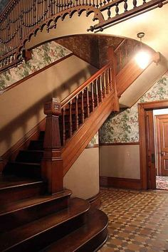 Nice Victorian Staircase ...