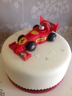 Azov Boys Websites And Posts On Filmvz Portal Picture Racing Cake, Race Car Cakes, 50th Birthday Cakes For Men, Ferrari Cake, Cake Topper Tutorial, Fondant Toppers, Cake Boss, Cakes For Boys, Occasion Cakes