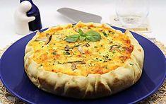 Pastel de patata, calabacín, jamón y queso al horno Quiche, Camembert Cheese, Pizza, Breakfast, Desserts, Food, Bechamel, Empanadas, 1