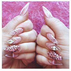 transparent nails - Google Search
