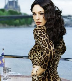 Monica Bellucci.... 47 years old and gorgeous