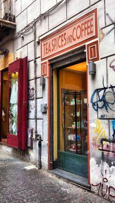 Qualcosa di tè, il negozio di tè di Napoli