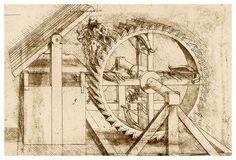 Machine Gun - by Leonardo da Vinci Da Vinci Inventions, Canvas Art Prints, Canvas Wall Art, Italian Renaissance Art, Survival Weapons, Survival Gear, Crossbow Hunting, Caravaggio, Science Art