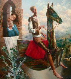 Pintura de Álvaro Rejas.