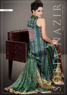 Sobia Nazir SILK Dresses Vol 2 Collection 2013   Latest Fashion Trends